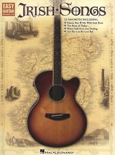 Irish Songs Easy Learn to Play Celtic Tunes Guitar TAB Music Book
