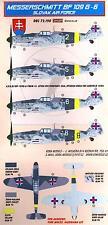 KORA Decals 1/72 MESSERSCHMITT Bf-109G-6 Slovak Air Force