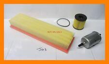 Service Kit: Oil Filter, Fuel Filter & Air Filter PEUGEOT 307 1.4 16V, Petrol