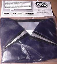2007 SUZUKI GSXR 750 2-Pc SEAT COVER SKINS & TANK BRA Blue/Blk/Silvr SECOND LOOK