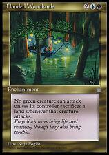 1x Flooded Woodlands Ice Age MtG Magic Gold Rare 1 x1 Card Cards