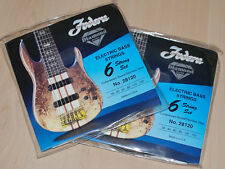 Fodera Bass Saiten 6-String Sets 28120 Stainless Steel - 2 Sätze