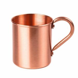 100% Pure Copper Moscow Mule Mug Ayurveda Health Benefit Water Cup Lead Free New