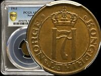 1911 Norway Øre -  PCGS AU 58 - KM# 367 - TOP POP - None Finer 🥇
