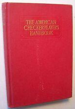 THE AMERICAN CHECKER PLAYER'S HANDBOOK Erroll Smith HC 1931 - A1