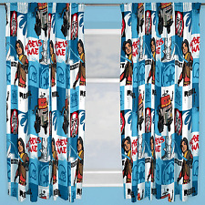 "DISNEY STAR WARS REBELS TAG CURTAINS 66""x72"" INCH DROP READY MADE BOYS BEDROOM"