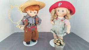 Campbell Kids porcelain doll*Lot of 2* LOOK!🤗