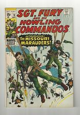 Sgt. Fury and his Howling Commandos #70 7.5 (W) VF- Marvel 1969 Silver Age
