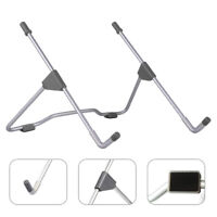 Adjustable Folding Laptop Stand For 10-17in Notebook Computer Table Bracket