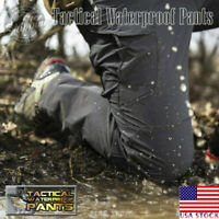Mens Tactical Waterproof Pants - US LOCAL DELIVERY