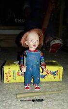 """2006 neca reel toys Cult Classics SERIE 4 BAMBINO PLAY 3 Figura Chucky 5"""" ** Usato"""