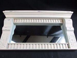 White Mirror IN Antique Style