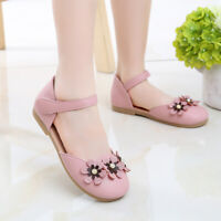 Fashion Children Princess Shoes Kids Students Summer Sandals Youth Girls Flats