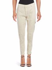 Vince Linen-Blend Cargo Pants Sz 14