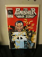 The Punisher War Zone #1 Die Cut Cover - Marvel Comics 1992~ ~~