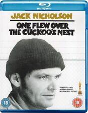 One Flew Over The Cuckoos Nest [Blu-ray] [1976] [Region Free] [DVD][Region 2]