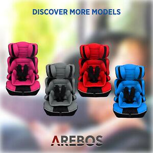 AREBOS Seggiolino auto per bambini 9~36kg Categorie 1+2+3 Seggiolino per bambini