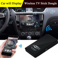 Car WiFi Display Mirror Link Smart TV Stick Dongle For Iphone Windows Android