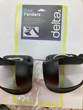 Delta Cycle Bike Strapless Toe Clips (Foot Fenders)