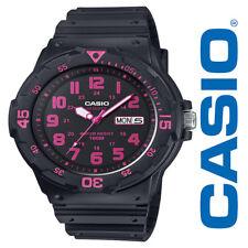 NEW Casio Women's Dive Style Watch MRW200H-4CVCF Black Pink