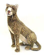 """Aux Nation Plush Large Sitting Leopard-36""""H x 30""""L"""