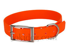 Collier biothane beta 25 mm x 60 cm orange - jokidog