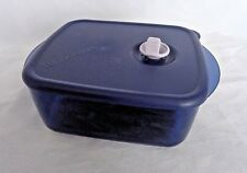 FREE SHIP Tupperware Vent N Serve 4 1/4 Cup Rectangular Lunch Freezer Micro NEW