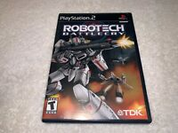 Robotech: Battlecry (PlayStation 2) PS2 Black Label Complete w/Reg Card Nr Mint!