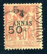 ZANSIBAR 1897 Yvert 36 gestempelt SPITZENWERT 1200€++(S5566