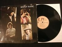 TRAFFIC - Best of Traffic - 1969 Vinyl 12'' Lp./ VG+/ Steve Winwood / 60's Rock