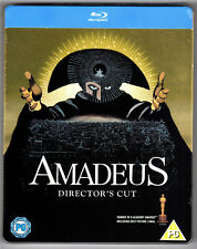 AMADEUS DIRECTOR'S CUT BLU-RAY STEELBOOK NEU & OVP SEALED DEUTSCHER TON