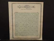 North Dakota Bottineau County Map Renville Township  1910 Q6#68