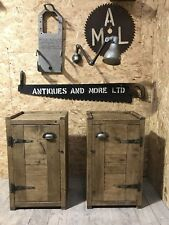 A Pair Of Up-Cycled Bedside Cabinets