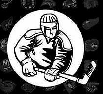 1987-88 Montreal Canadiens Vachon Stickers #20 Chris Nilan