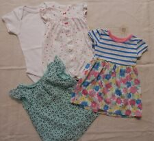 Toddler Girl's Clothing lot (4 pieces) size 12-month - Dresses, Bodysuits