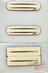 JBE S-Deluxe HSS Pickup Set, Ivory w/TT Bridge
