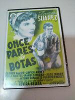 Once Pares de Botas Jose Suarez Futbol - DVD Slim Español Nueva