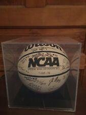 2005-2006 UNI Team Autographs Wilson Official NCAA Autograph Basketball & Case