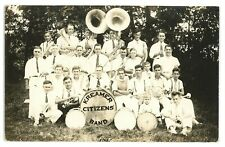 RPPC KREAMER PA Citizens' Band Snyder County Pennsylvania Real Photo Postcard 1