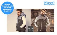 Brave Soul Waist Length Polyester Zip Men's Coats & Jackets