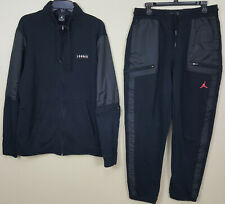NIKE JORDAN VI RETRO 6 INFRARED SUIT JACKET + PANTS BLACK RARE (SIZE XL / LARGE)