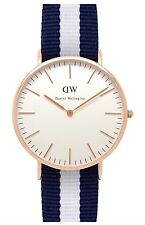 Daniel Wellington Watch * 0104DW Classic Glasgow 40MM NATO Strap COD PayPal