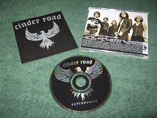 Cinder Road - Superhuman (cd) promo punch