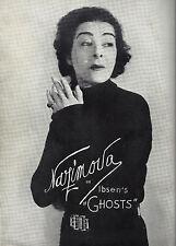 "Alla Nazimova ""GHOSTS"" McKay Morris / Ona Munson 1935 Broadway Souvenir Program"