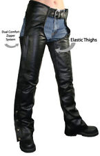 Leather Low Rise Regular Size Jeans for Women