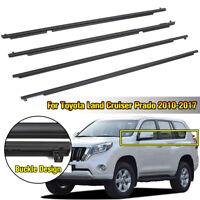 For Toyota Land Cruiser Prado Car Weatherstrip Window Door Seal Belt Trim