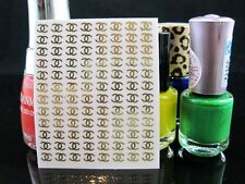 96 Pcs Of 18K Gold 3D Nail Art Stickers Ladies Nail Decoration