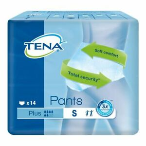 Tena Pants Plus Small (14 Pack)