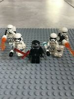 CAPTAIN PHASMA Lot of 6 Black Ops Trooper Minifigures FREE US SHIPPING