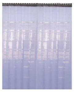 PVC Refrigeration Strip Curtain Door Strips Only 2.5 Meter Drop 2mmX 300mm Wide